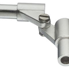 Scharnier 20 mm. aluminium