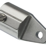 Eindstuk aluminium 20