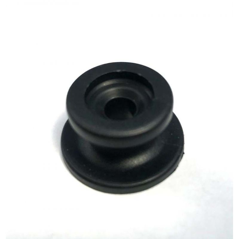 Knop nylon zwart