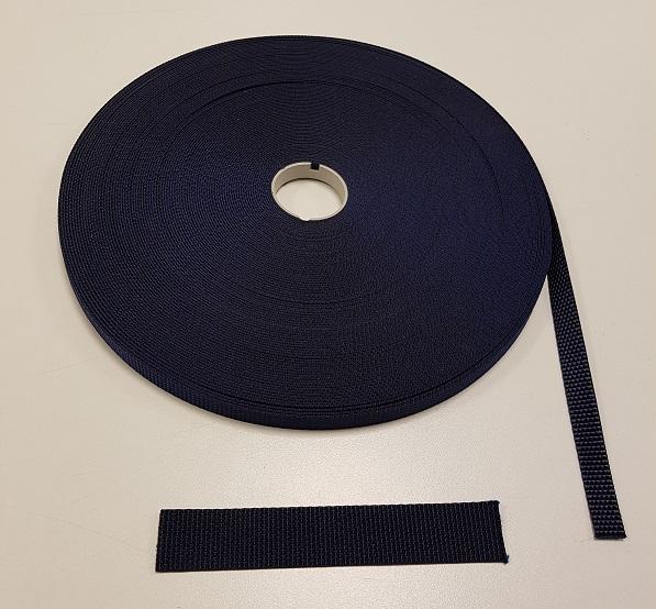 Polyesterband navy