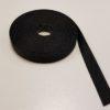 Polyesterband zwart