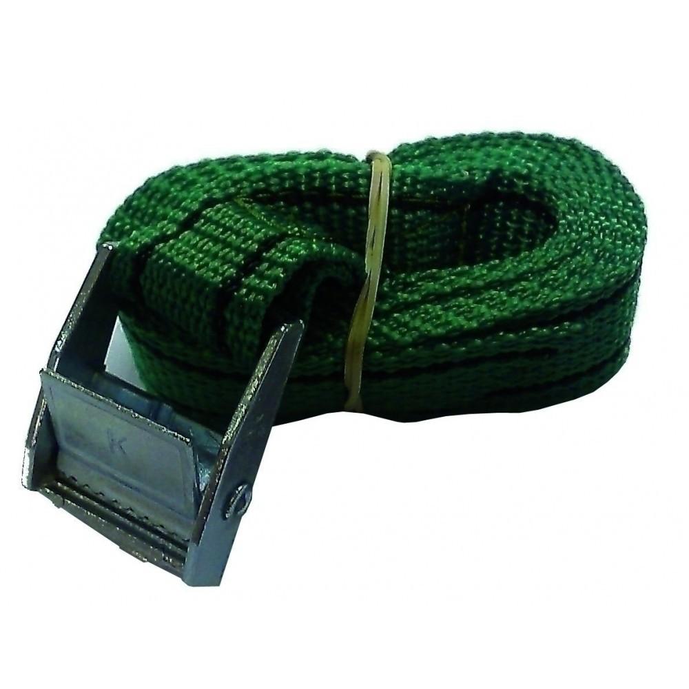 Spanbandje gesp groen