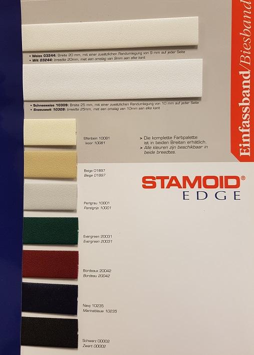 Stamoid edge kleuren