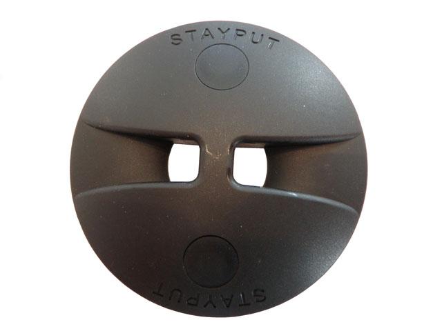 Stayput dome saddle zwart