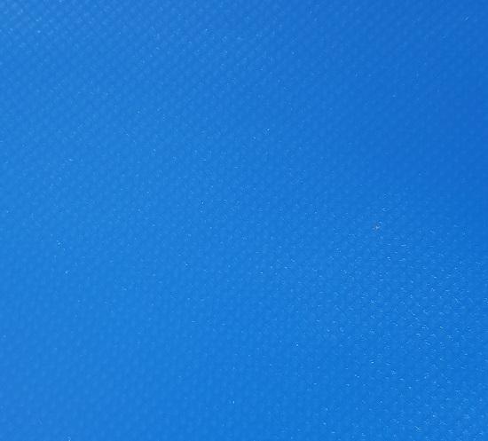 Tentdriehoek pvc blauw