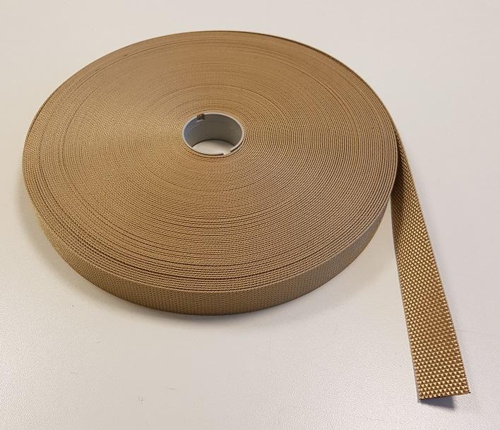 polyesterband beige