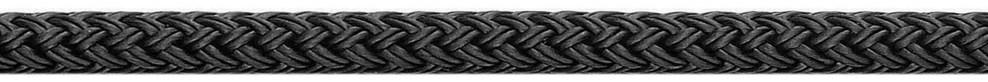 Fenderlijn deluxe polyester zwart U-rope