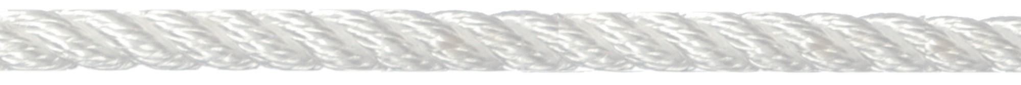 Landvast 3-strengs PPM wit U-Rope